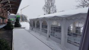 Winterzeit in der Lok!